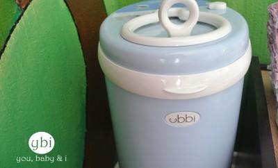 Ubbi Diaper bin