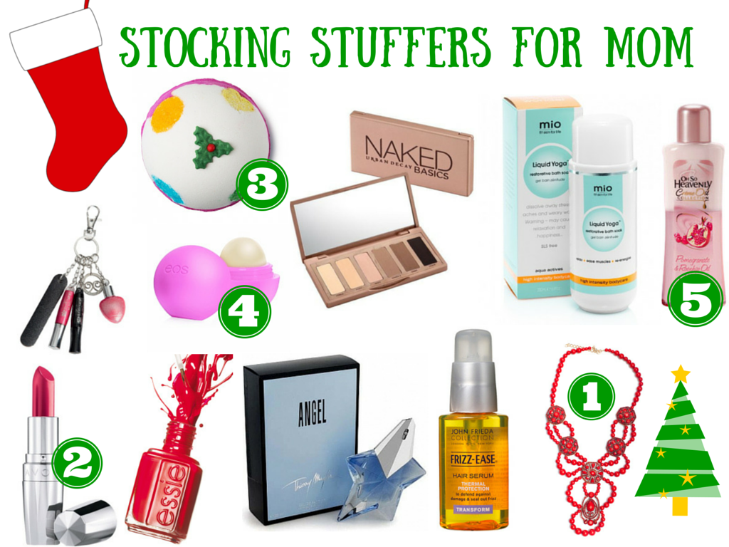 Stocking stuffers for mom this Christmas