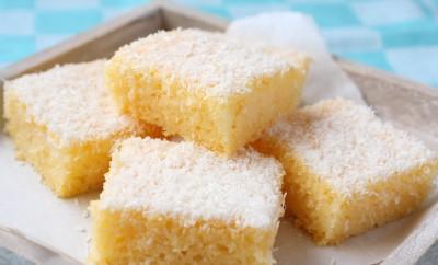 Eggless semolina coconut cake you baby and i forumfinder Choice Image
