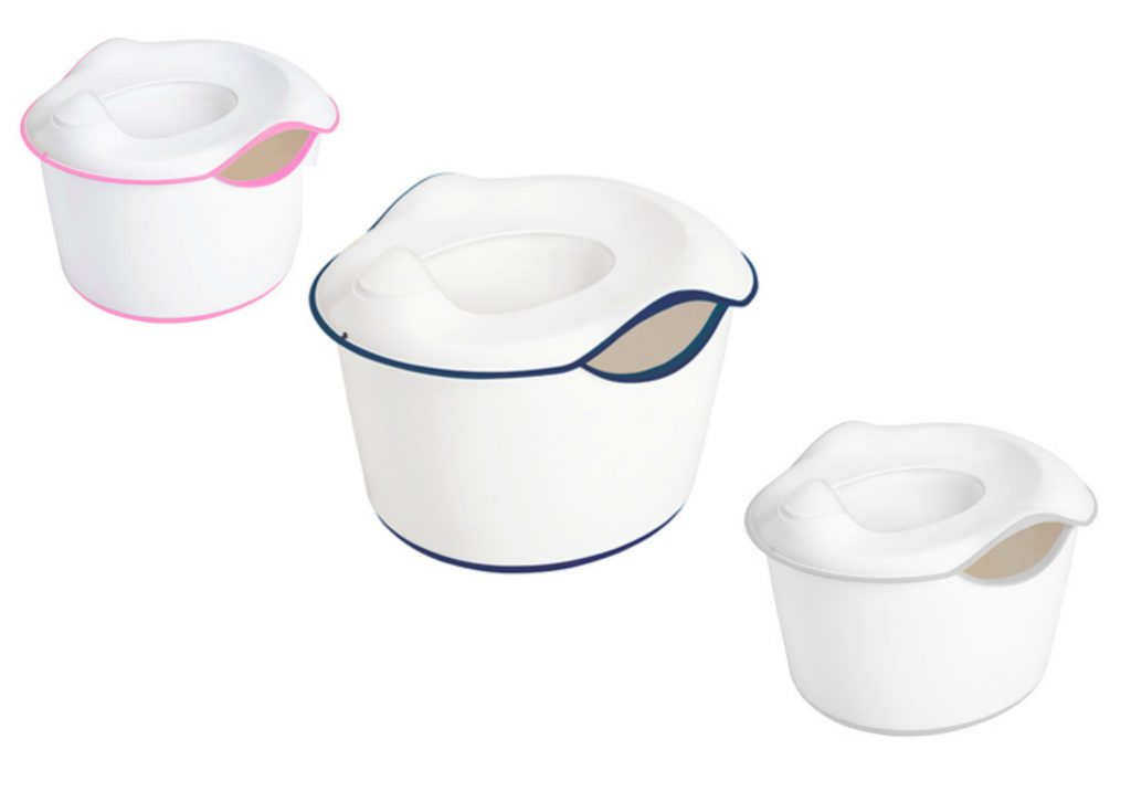 The Ubbi 3-in-1 potty trainer