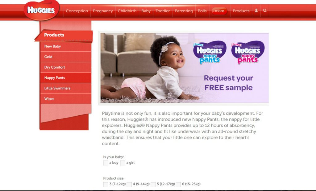 HOW TO GET FREE BABY PRODUCT SAMPLES IN SOUTH AFRICA...