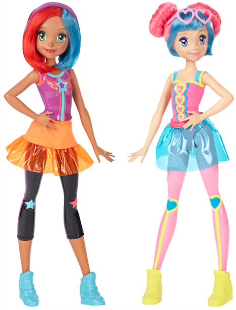 Barbie video game hero dolls