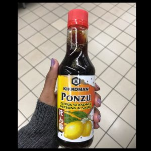 Nice to have - Ponzu sauce